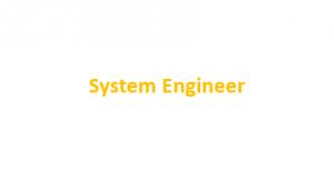 Stellenausschreibung System Engineer