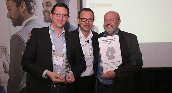 rocon receives the SAP Award 2016
