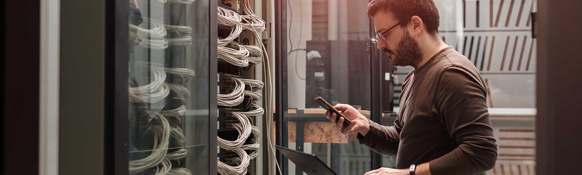 IT Infrastruktur optimieren - IT Services und Managed Hosting mit rocon