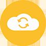 IT Service Icon Cloud