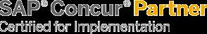 SAP Concur Partner Logo - rocon GmbH